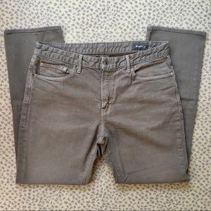 Bonobos Travel Jean Straight 36 x 32 Light Grey